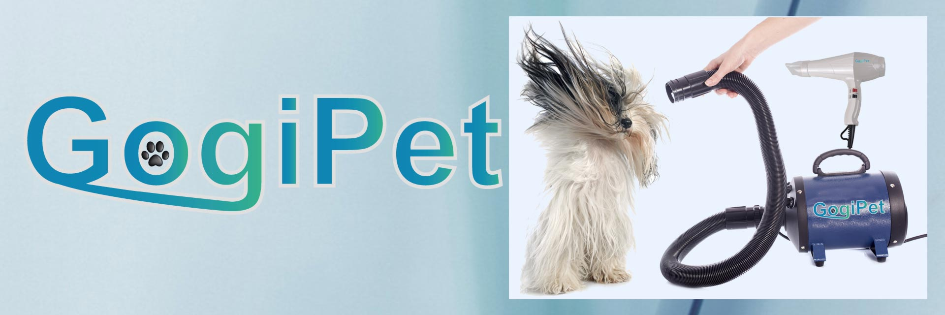Professional dog dryers for the dog groomer and for private dog grooming